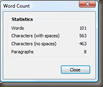 WLW Word Count